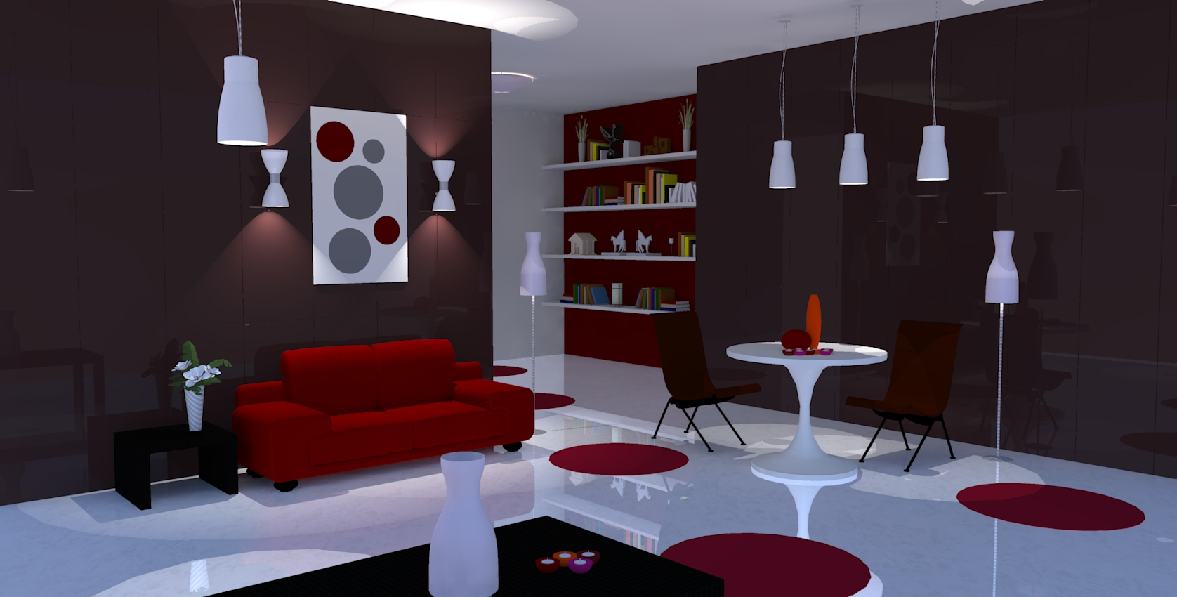 Plan d am nagement d un futur appartement conception for Plan amenagement salon
